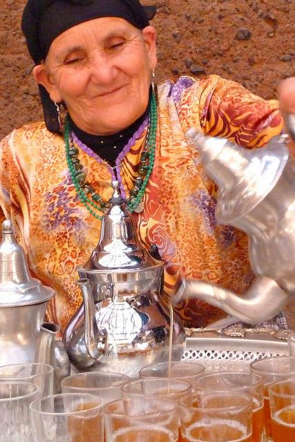 Travel Morocco - Traditional Berber Tea Ceremony