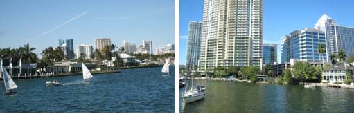 Ft Lauderdale, city on the water