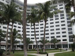 B Ocean hotel front