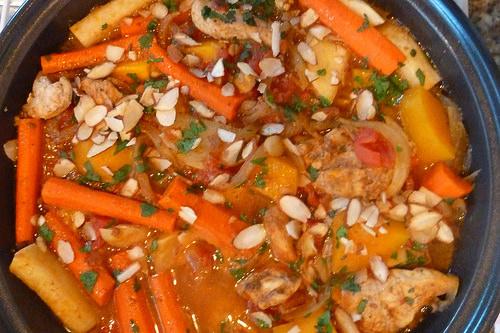 Ras El Hanout Moroccan Chicken Tagine