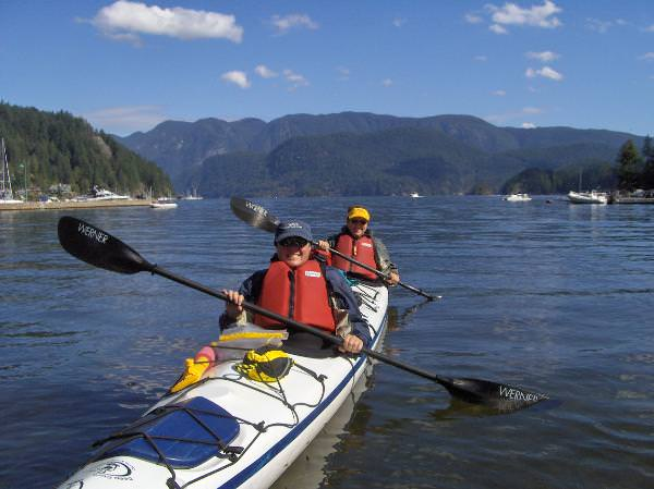 WJ Kayaks In Beautiful British Columbia