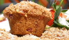 Yummy Breakfasts – Suzy's Yummy Rhubarb Muffins Recipe