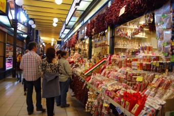 Shopping in Budapest Market