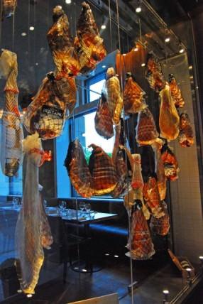 Hams Hanging at Hambar
