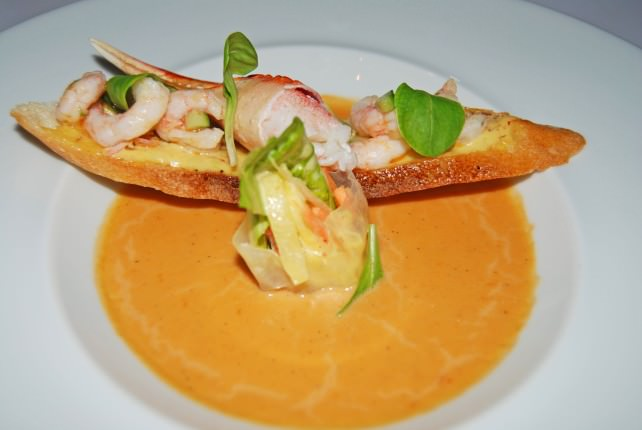 The First Bite Starter - Crab Bisque