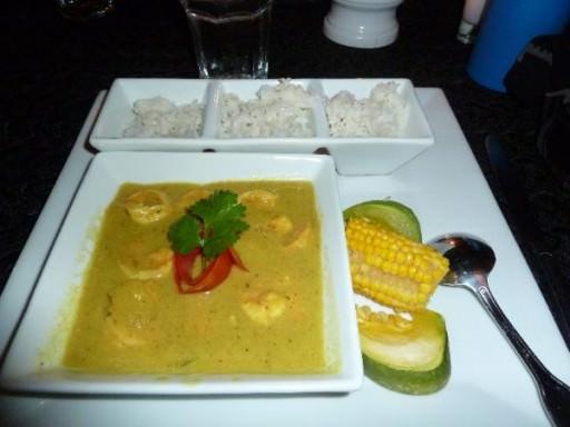 Dinner - Caribbean Curry Shrimp