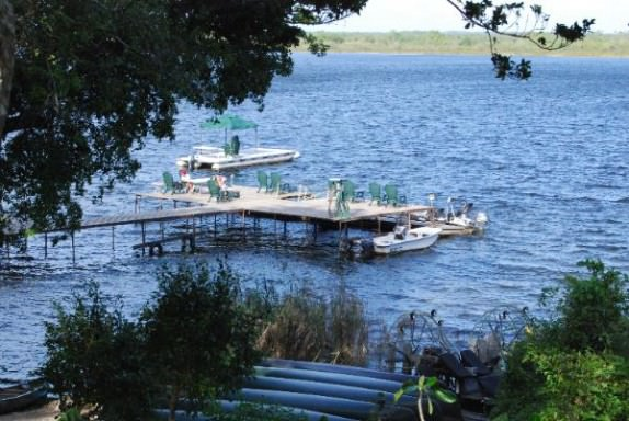 Lamanai Outpost Lodge Dock