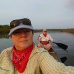 Viv and Jill - Sunrise Canoe Trip
