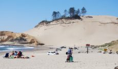 Pacific City on the Oregon Coast: Dune Surfing