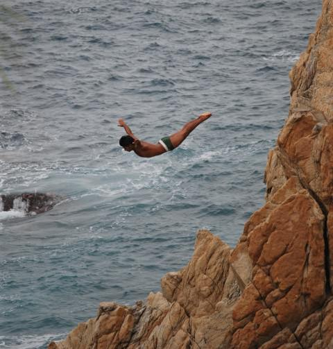 Acapulco Cliff Divers at La Quebrada