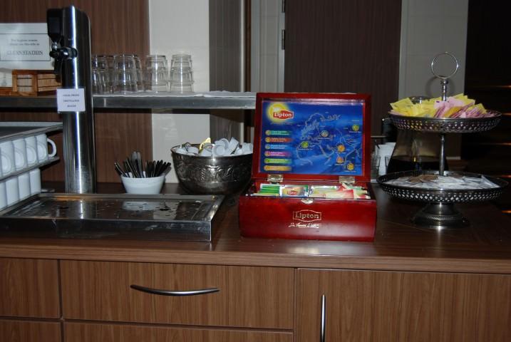 Uniworld River Royale - Patio Lounge Coffee and Tea