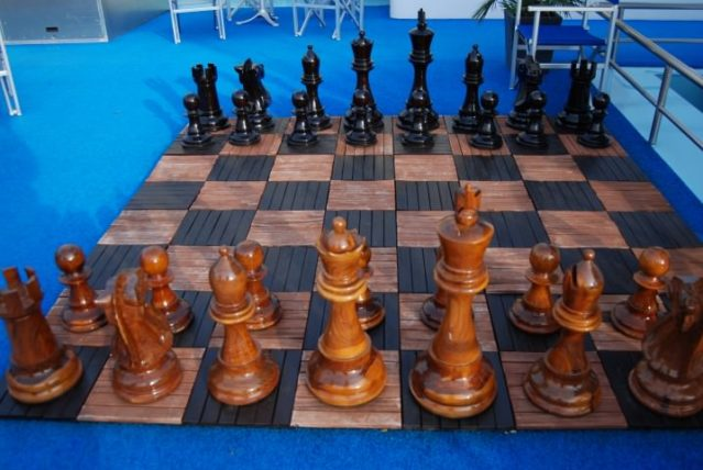 River Royale Outdoor Chess