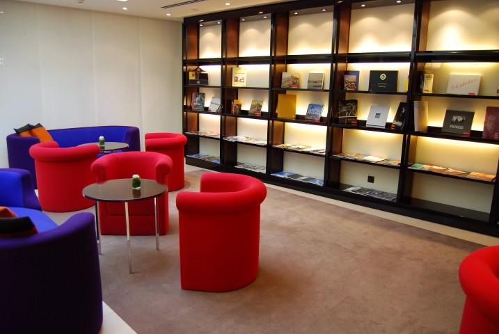 Library in Hotel Maximilian Prague