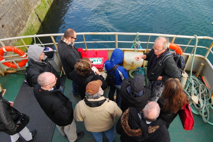 Taking the Ferry to Inishboffin Island with Archaeologist Michael Gibbons