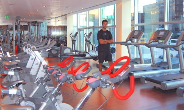 Fitness at Corinthia Hotel Lisbon
