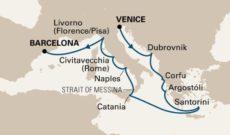Holland America Line Nieuw Amsterdam Cruise Itinerary