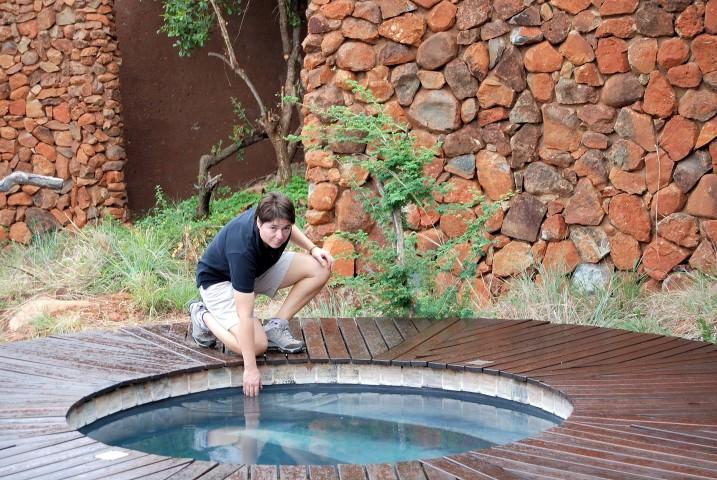Plunge Pool at &Beyond Madikwe Safari Lodge in South Africa