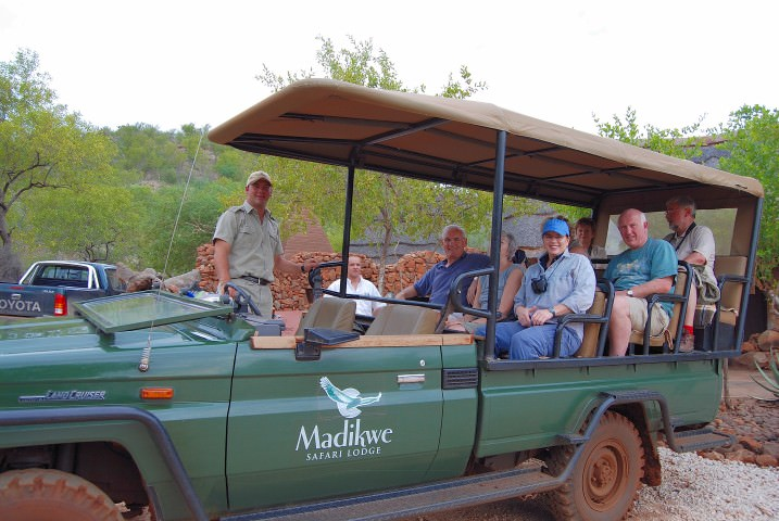 Game Drives at &Beyond Madikwe Safari Lodge in South Africa