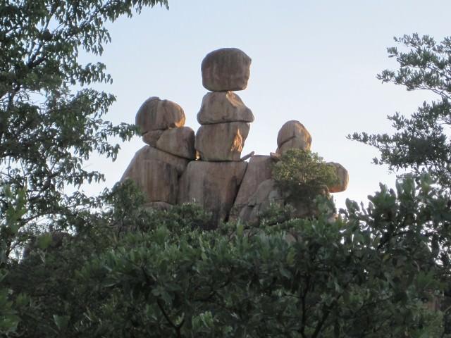 Matopos National Park in Zimbabwe