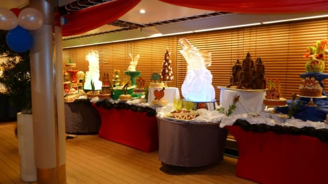 At Sea - Dessert Buffet