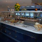 Uniworld River Royale Cezanne Restaurant Lunch Buffet