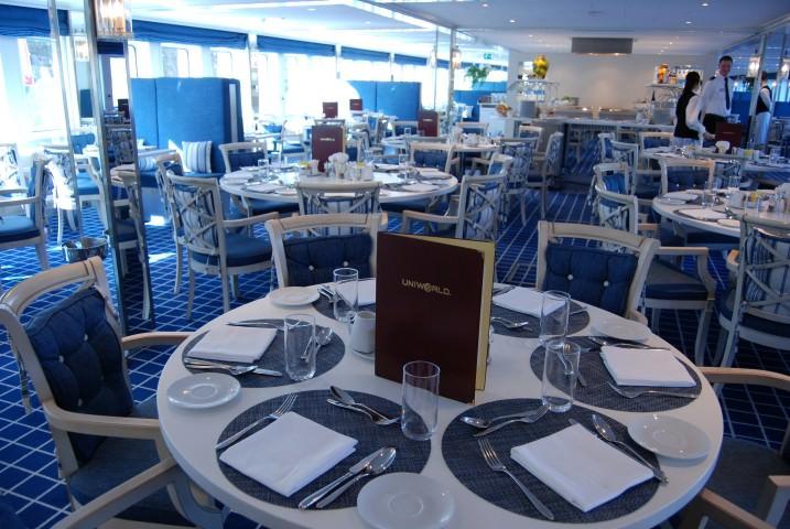 Uniworld River Royale Restaurant