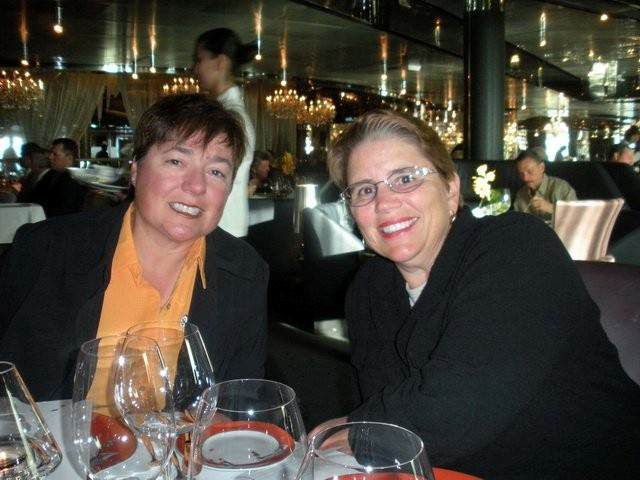 Viv and Jill Cruise on Holland America Line's Nieuw Amsterdam