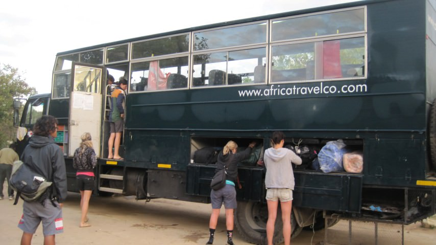 Overland Truck Safaris in Africa