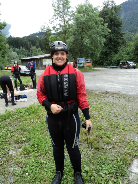 Rafting in Austria with Contiki