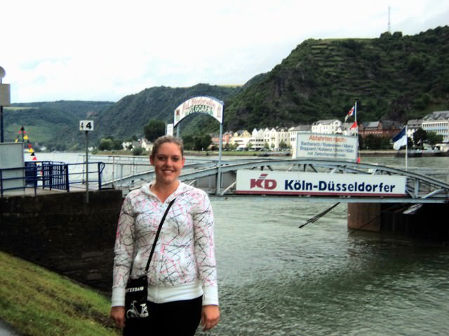 Along the Rhine River in Germany