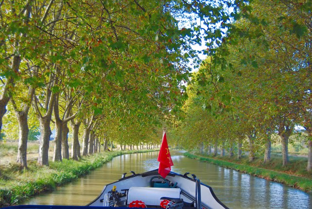 Cruising the UNESCO World Heritage Site Canal du Midi in France