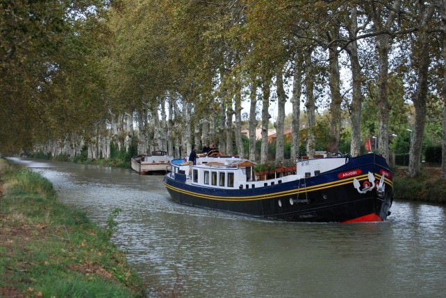 Anjodi Cruising the Canal du Midi in the South of France