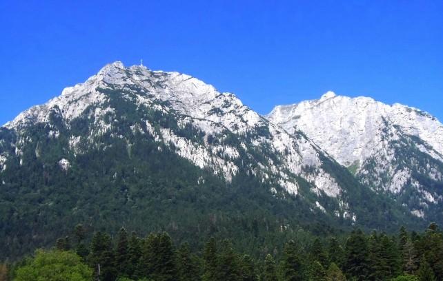 Carpathian Mountains in Romania