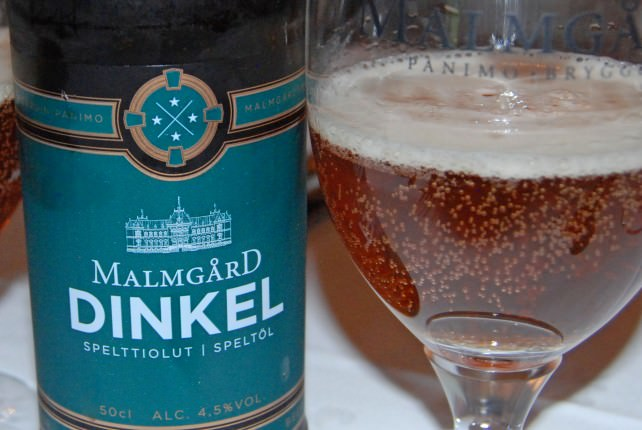 Local Beer - Malmgard Dinkel