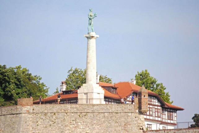 Belgrade Fortress Statue