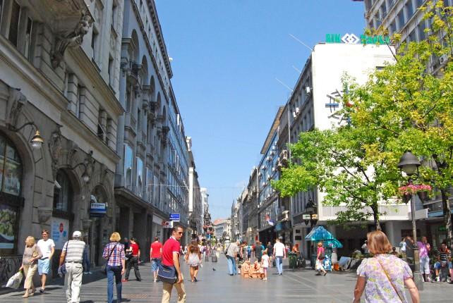 Belgrade Main Shopping Street