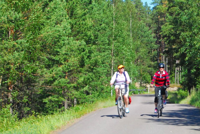 Biking in Finland