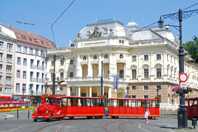 Bratislava Choo-Choo Train Tour