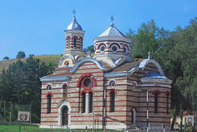 Church in the Bulgarian Countryside