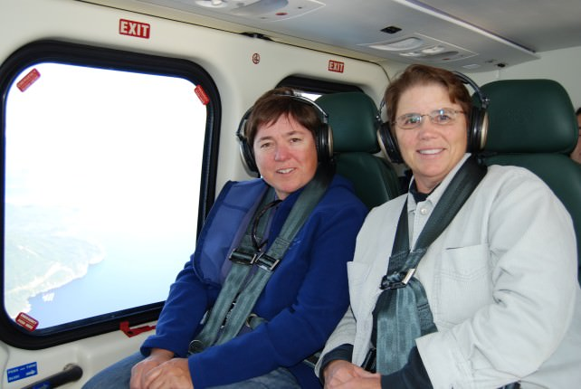 Viv and Jill Take a London Air Helicopter to Sonora Resort