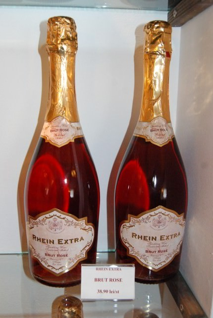 Rhein Azuga Cellar Sparkling Rose Wine - Romania