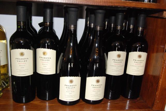 Wine from Rhein Azuga Cellar in Romania