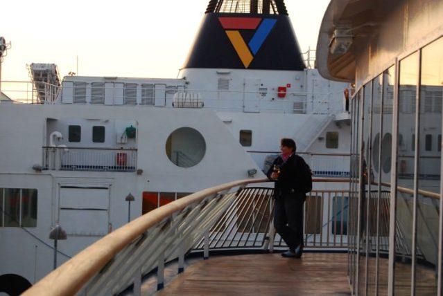 Ferry Between Helsingborg and Helsingor