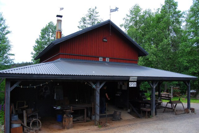 Visit the Blacksmith at Fiskars Village