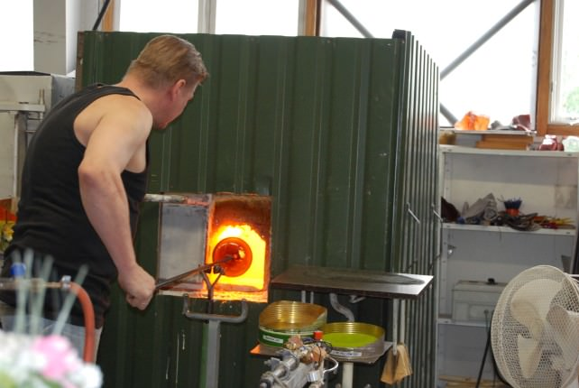 Visit a Master Glassblower in Fiskars Village