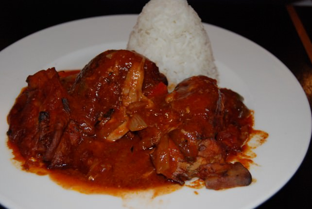 Globus Welcome Dinner at Chez Bruno - Basque Chicken