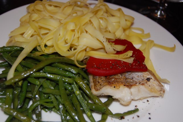 Globus Welcome Dinner at Chez Bruno - Sea Bass