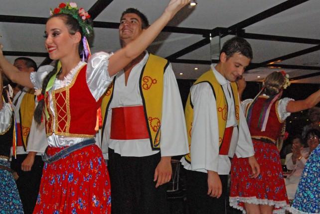 Folklore Dancers on Uniworld River Princess