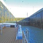 Uniworld River Princess Traverses Gabcikovo Hydroelectric Dam and Lock