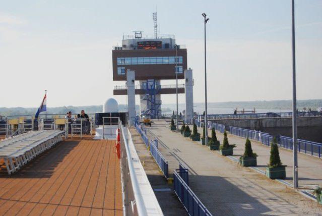 Gabcikovo Hydroelectric Dam and Lock